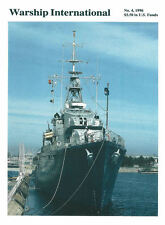 WARSHIP INTERNATIONAL NO.4 1996 LAST RCN TRIBAL DD HMCS HAIDA / RUSSIAN CRUISER