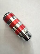MOMO Aluminum Red and Silver Gear Knob All Manufacturers and Customised