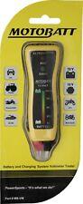 Motobatt  Voltmeter 12V Battery & Alternator Tester for Motorcycle ATV Car SJ733