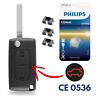 Boitier / Coque Clef Plip pour Telecommande Citroën C4 Picasso • CE0536 • Coffre