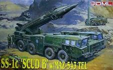 "1/35 SS-1c ""SCUD B"" missile with MAZ-543 TEL launcher ~ Dragon #3520"