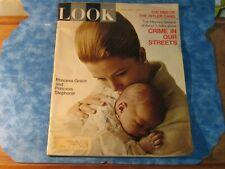 VINTAGE LOOK MAGAZINE June 1, 1965 PRINCESS GRACE Monaco CRIME Hitler Gang