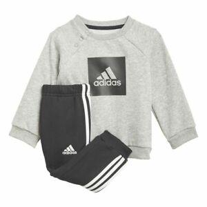 Adidas Baby Kids Toddler Boys Tracksuit Jogging Bottoms Top Sweatpants Joggers