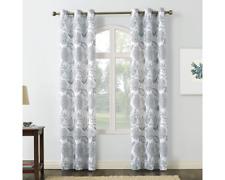 No 918 Valerie Janelle Light-Filtering Grommet-Top Curtain Panel Pair 40 x 95