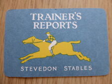 TOTOPOLY TRAINER'S REPORT CARDS,VINTAGE 1949,WADDINGTON