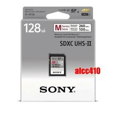 Sony 128GB SD SDXC Memory Card Read 260MB/s Class 10 U3 4K UHS-II SF-M128 AU