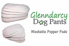 GLENNDARCY WASHABLE / REUSABLE DOG SEASON POPPER PADS - WATERPROOF LAYER BASE
