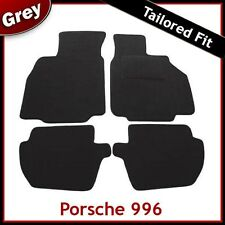 PORSCHE 996 Tailored Fitted Carpet Car Mats GREY