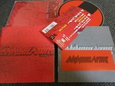 ANNIHILATOR  / remains /JAPAN LTD CD OBI sticker