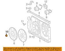 TOYOTA OEM Cooling Fan-Fan Blade Nut 9009905164