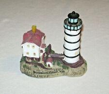 New ListingVintage Lighthouse Display Portsmouth Harbor New Hampshire Souvenir