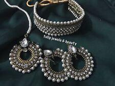 Indian/Pakistani wedding Designer jewellery choker set with tikka