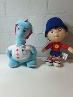 """DREAMWORKS Noddy and Smartysaurus 8"""" from Noddy Plush Cuddly Toy bundle"""