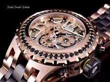 Invicta JT 52MM Reserve 2.75ctw Black SPINEL Subaqua Specialty Rose Gold Watch