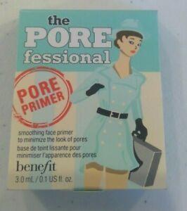 Benefit Cosmetics The PORE fessional Face Pore Primer Sample 3ml .1oz