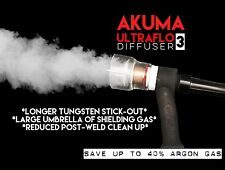AKUMA 12 Coppa in Pyrex con diffusore UltraFlo Gas Saldatura TIG Dita per WP/9