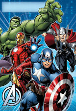 8 Marvel Avengers Birthday Party Loot Bags Superhero