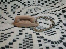 ~Beige Princess Phone Key Chain~ Barbie Size~ It's Little! It's Love~ Vintage~