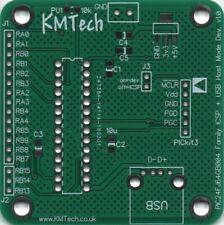 PIC24FJ64GB004 Family ICSP + USB Host mode Dev board uses PICkit 3 PCB DIY