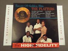 "THE PLATTERS ENCORE OF GOLDEN HITS ORIGINAL 1960 MONO LP ""THE GREAT PRETENDER"""
