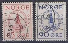 Noorwegen gestempeld 1960 used 440-441 - Wetenschappelijk Gezelschap