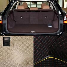 PU Leather Rear Trunk Cargo Liner Protector Mat Seat Back Cover For Lexus RX