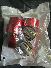 6 x Scotch Espressioni nastro rosso metallizzato 3m Regalo Nastro 19mm x 5.08m