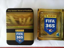 Boîte métallique PANINI 15 Pochettes de stickers FIFA 365 2017: The Golden World