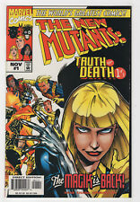 New Mutants: Truth or Death #1 (Nov 1997, Marvel) Magik Ben Raab Bernard Chang p