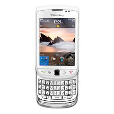 BlackBerry Torch 9800 - 4GB - WHITE (Unlocked)(AT&T)-CLEAN ESN- FAIR CONDITION!