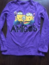 Despicable Me Amigos T-Shirt - Girls Size XL - Perfect!!
