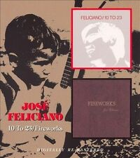 10 to 23/Fireworks [Remaster] by José Feliciano (CD, Jan-2008, Beat Goes On)