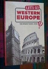 Lets' go WESTERN  EUROPE (Westeuropa) - Britain Italy # The student travel guide