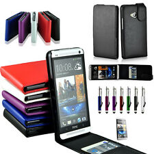 Flip Leather Case Cover For HTC ONE M7 810e