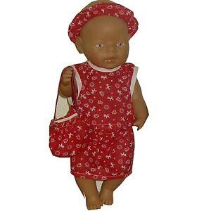 PK128 Puppenkleidung für Baby Puppen 43cm