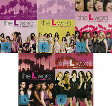 THE L WORD komplette Season Staffel 2+3+4+5+6 NEU NEW OVP 19 DVDs Jennifer Beals