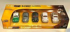Jada DUB CITY 5-DEEP Pack Oldskool 59 VOLKSWAGEN BEETLE Green ZMac Black White