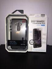 INCIPIO Dual Pro LG G Flex Case with Screenguardz Bodyguardz Pure Tempered Glass