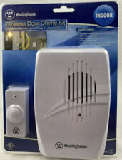 Wireless Door Chime Kit Cordless Button & Plug-In Receiver T00405 2009 NIP