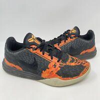 Nike Kobe Bryant KB Mamba Mentality Orange Pewter Shoes 704942-200 Mens Size 7.5