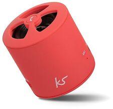 KitSound PocketBoom Universal Wiederaufladbarer Bluetooth Lautsprecher tragbar