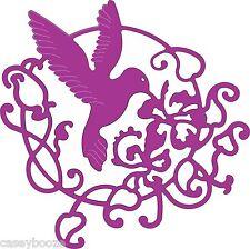 Cheery Lynn Designs Die ~ Lace Hummingbird Flourish ~ B192 ~ New In