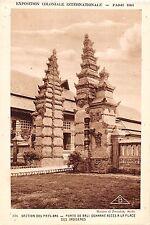 BT15152 Porte de Bali Donnant acces a la place des indigenes paris     Indonesia