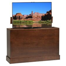 Azura 360 Degree Swivel in Sonoma Finish TV Lift Cabinet by TVLIFTCABINET