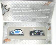 Die Ludolfs-Set mit 2 Modellen (Citroen 2 CV und VW New Beetle)