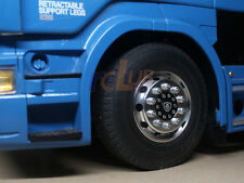 1:14 1/14 rc truck trailer front wheel for tamiya scania R470 / R620