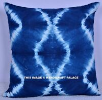 Indian Tie Dye Shibori Pillow Case Mandala Design Cushion Cover Pillow Sham 18""