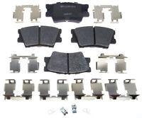 Disc Brake Pad Set-R-Line; Ceramic Rear Raybestos MGD1212CH