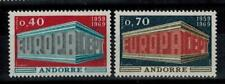 "(b11)  timbres d'Andorre Français n° 194/195 neufs** année 1969 ""europa"""