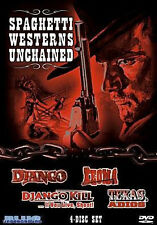 SPAGHETTI WESTERNS UNCHAINED - DVD - Region 1 - Sealed